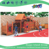 Outdoor Large Wooden Maze Combination Playground With Lookout Tower (HHK-7701)