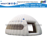 Outdoor Customized Inflatable Dome Tent with Inflatable Base for Amusement Park (HD-9704)