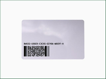 RFID Blank Card with Customer Printing