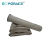 160X6000 PPS / PI Filter Felt Dust Collector Bags PPS Filter Bag