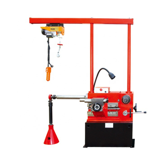 T8465 Good Quality Brake Drum And Disc Repair Machine