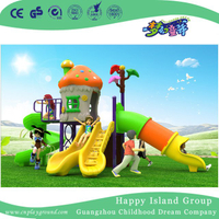 2018 New Outdoor Mini Yellow Mushroom House Children Playground Equipment (H17-A16)