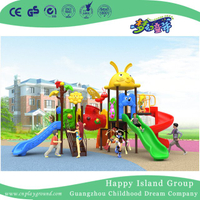 New Outdoor Cartoon Animal Roof Children Playground Equipment for Sale (H17-B5)