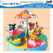 Small cartoon Carousel Horse Ride Play Equipment (A-11503)