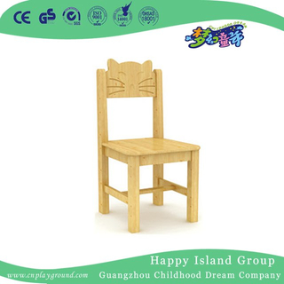 School Wood Cartoon Cat Model Children Chair (HG-3906)
