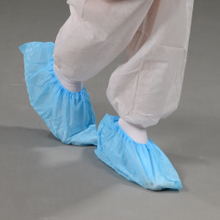 Anti-skid non woven shoe cover by hand