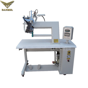 DR-F11T Horizontal Arm Sleeve & Cuff Taping Machine Hot Air Seam Tape Heat Sealing Machine