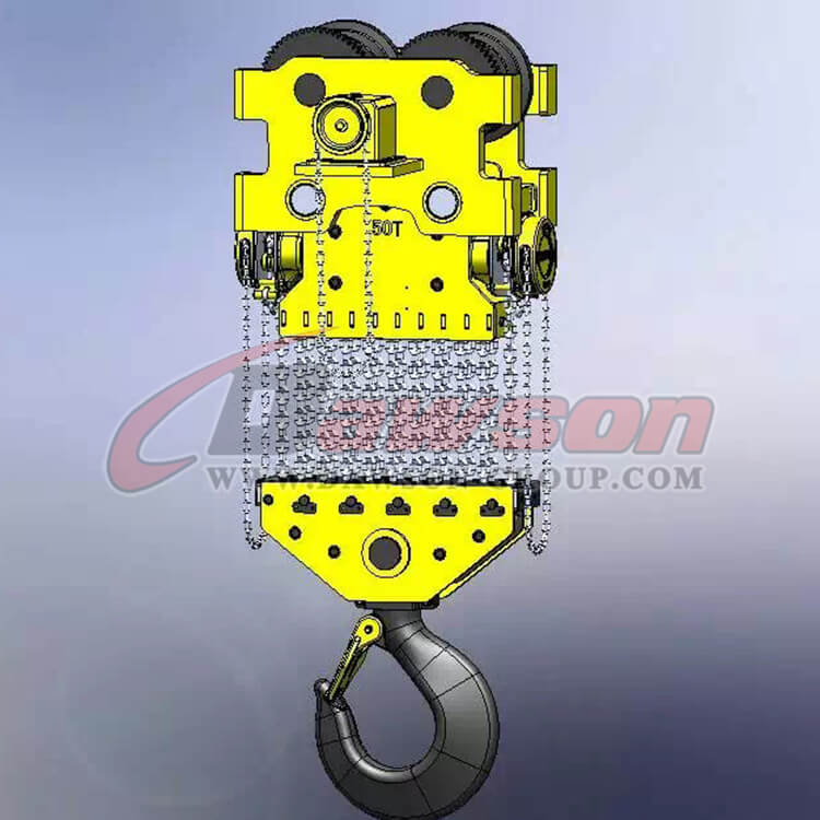50T Heavy Duty Lifting Chain Block, Chain Hoist - Dawson Group Ltd. - China Manufacturer, Supplier
