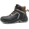China factory sales tiger master brand leather safety boots with steel toe