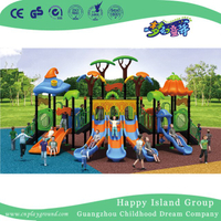 2018 Outdoor Cartoon Vegetable Roof Playground Equipment for Children (HG-9201)