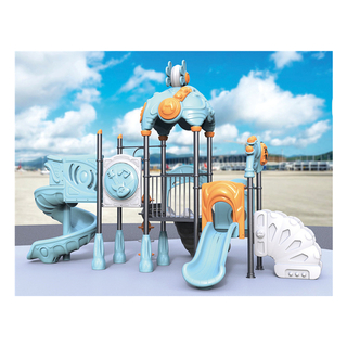 Outdoor Light Blue Little Outer Space Playground for Toddler Play (HJ-10901)