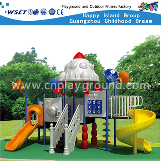 GS Approved Outdoor Children Robot Outer Space Galvanized Steel Playground (HA-07301)