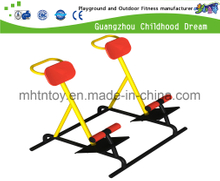 Outdoor Physical Exercise Equipment Double High Supine Board