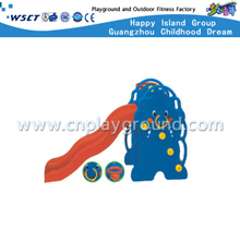 Outdoor Cartoon Plastic Toys Small Elephant Slide Playground (M11-09404)