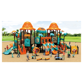 Outdoor Mini Outer Space Slide Playground For Kindergarten (HJ-11501)