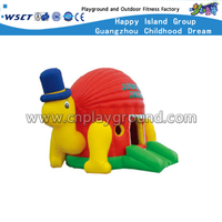 Snail Design Children Outdoor Inflatable Castle Playgrounds (HD-9903)