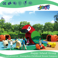 Outdoor Small Kids High Quality Parrot Animal Playground (HHK-3701)