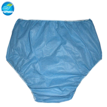 Disposable nonwoven brief for man