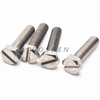 Stainless Steel Slotted Head Hex Cap Screw