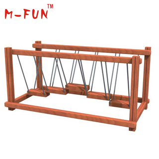 Step climber for outdoor playground