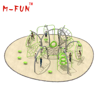 Galvanized iron jungle gym for kids