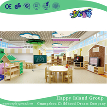 School Wooden Style Classroom Whole Solution for Toddler (HG-6)