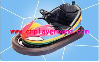 Amusement Park Electric Colorful Toddler Bumper Car With Shock Absorber