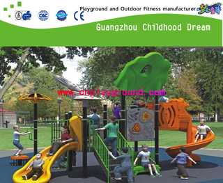 Small Outdoor Commercial Playground Equipment (H13-10078)