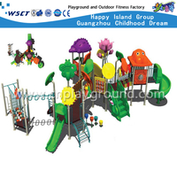 Large Outdoor Colorful Children Animal Cartoon Galvanized Steel Playground(M11-00801)