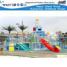Kids Hotel Water Park Slide Playground Equipment on Stock (A-06401)