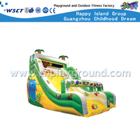 Outdoor Cartoon Forest Inflatable Slide Children Play Equipment (HD-9601)