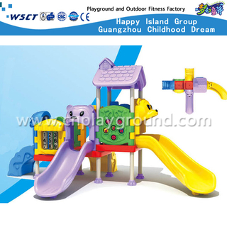 Most Popular Small Toddler Plastic Playground Set On Stock(M11-03203)