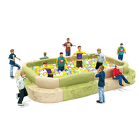 Outdoor Middle New Design Children Plastic Ball Pool (HJ-21901)