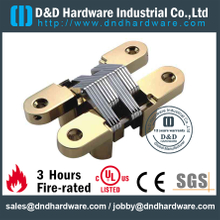 Zinc Alloy Light Duty Concealed Hinge for Interior Wooden Door -19x95mm-ZA-CC06