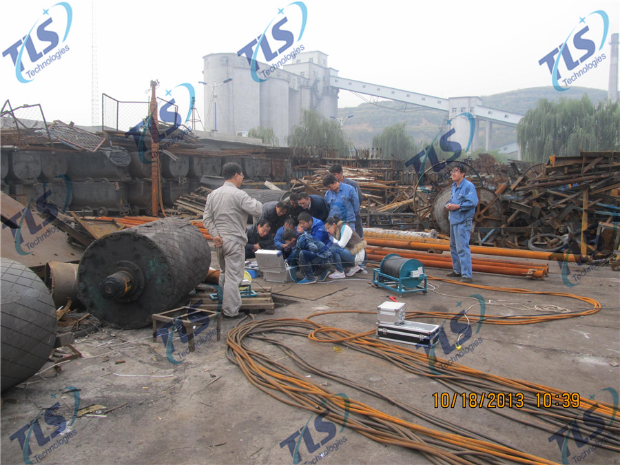 TLS Technologies Borehole Inspection Camera Application Case-Hongdong county coal mine well logging field-01