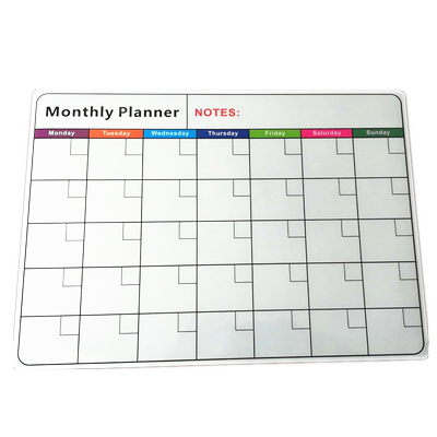 2020 New Fridge Magnetic Whiteboard Roll Easy Planner With Dry Erase Magnet Calendar
