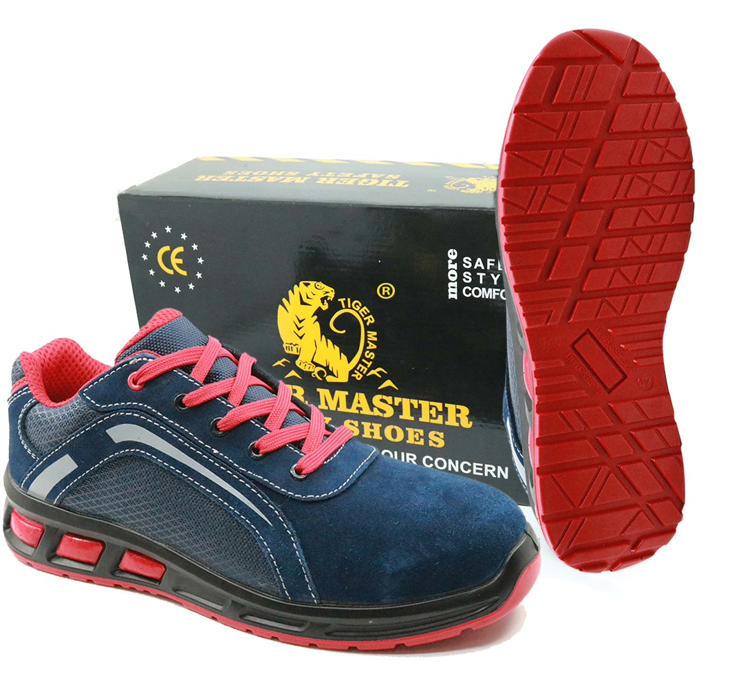 Popular in europe oil resistant fashionable sport type safety shoes work