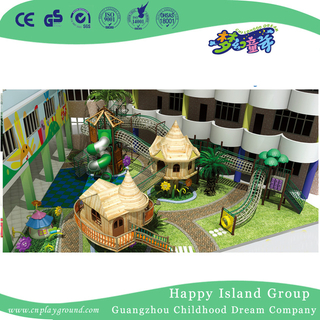 School Outdoor Garden Whole Solution with Wooden Playground for Children (HG-5)