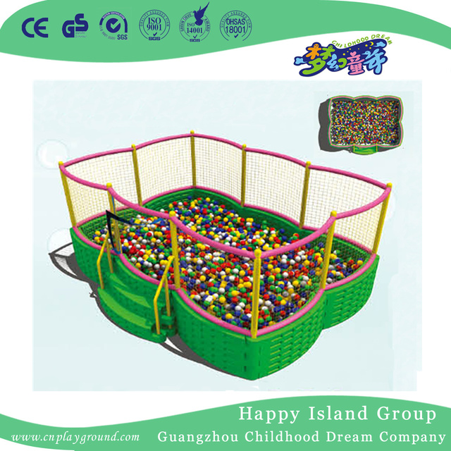 Outdoor Luxury Ocean Ball Pool Playground With Network (HF-19904)