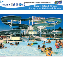 Outdoor Family Water Slide Combination Equipment for Swimming Pool Water Play Set (A-06602)