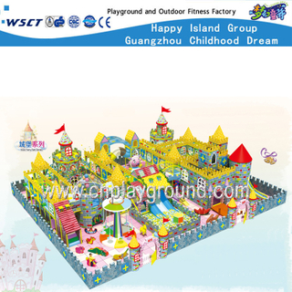 Large Scale Castle Indoor Playground Equipment for Kids (HE-06701)