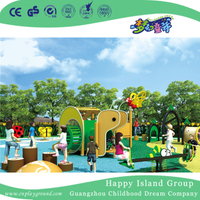 Outdoor Children Play Caterpillar Animal Playground For Backyard (HHK-4901)
