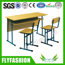 Classroom Furniture Wooden Double Student Chair and Desk(SF-22D)