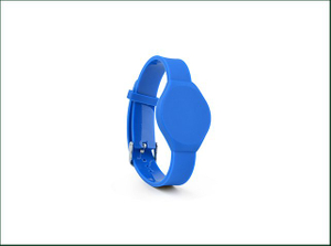 Customized Ntag213 NFC PVC RFID Bracelet Wristband for Access Control