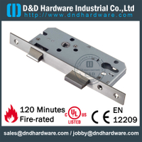 Stainless Steel Latch Mortise Lock with Dead Bolt for Bath Door- DDML4585