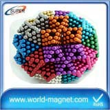 N42 strong rare earth ndfeb magnets balls new products 2017