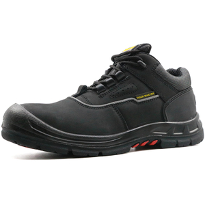 Rubber out sole tiger master brand steel toe safety shoes work