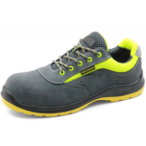 Lightweight breathable plastic toe cap sport type work shoes safety