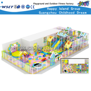 Large Modern Cartoon Indoor Playground For Sale (HD-8301)