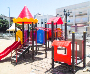 Playground equipment project in Saudi-Araia-Jeddah